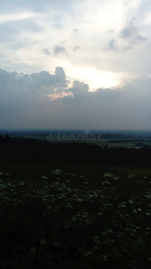 Chiltern hills stock photography