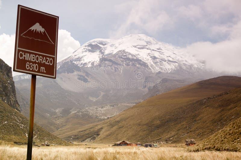 Chimborazo 免版税库存图片