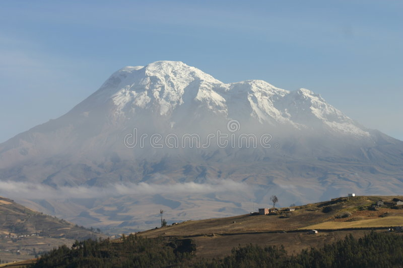 Chimborazo foto de stock royalty free