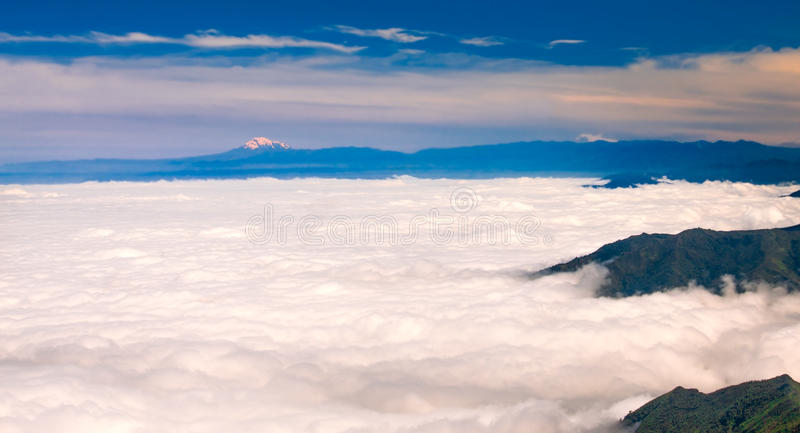 Download Chimborazo From El Cajas stock photo. Image of volcano - 28400860