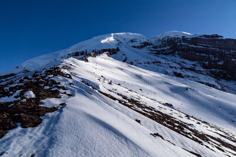 Chimborazo, Equateur photo stock
