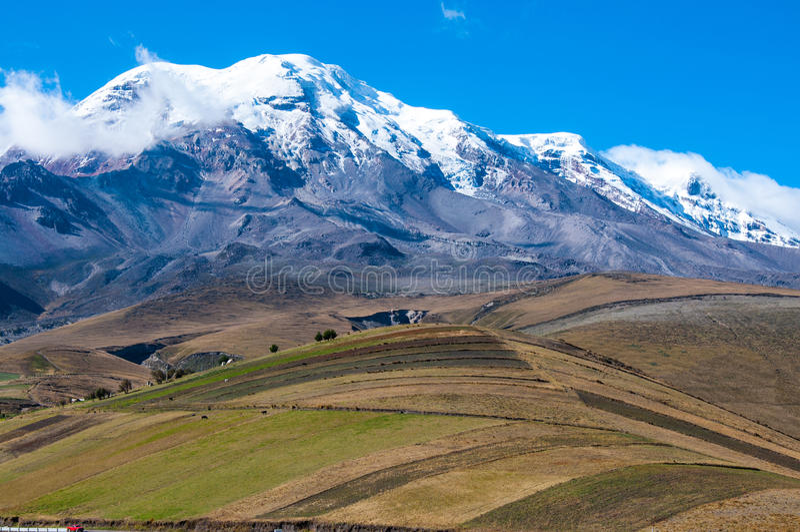 Chimborazo royalty free stock image