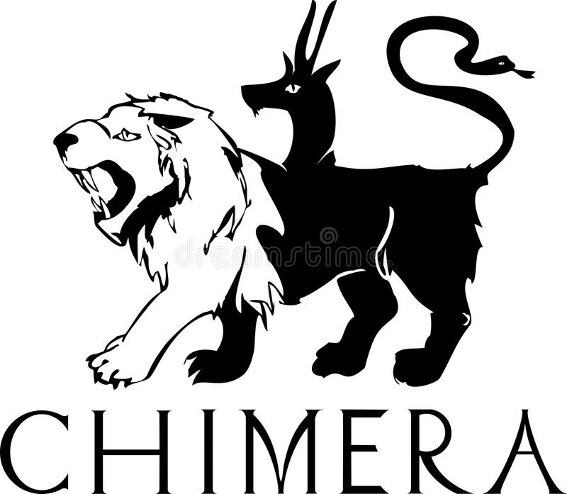 chimera royalty illustrazione gratis