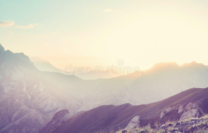 Chimgan góry obrazy stock