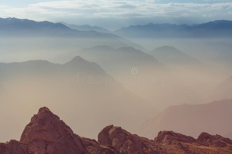 Chimgan góry obrazy royalty free