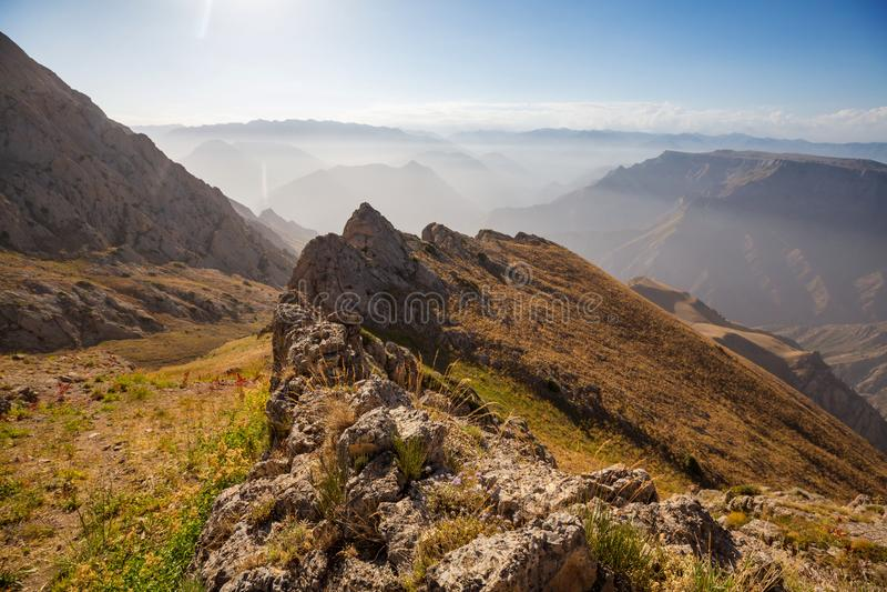 Chimgan góry obraz royalty free