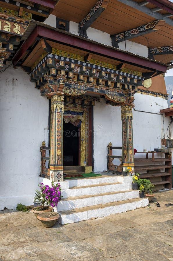 Chimi Lhakang monaster, Punakha, Bhutan obrazy royalty free