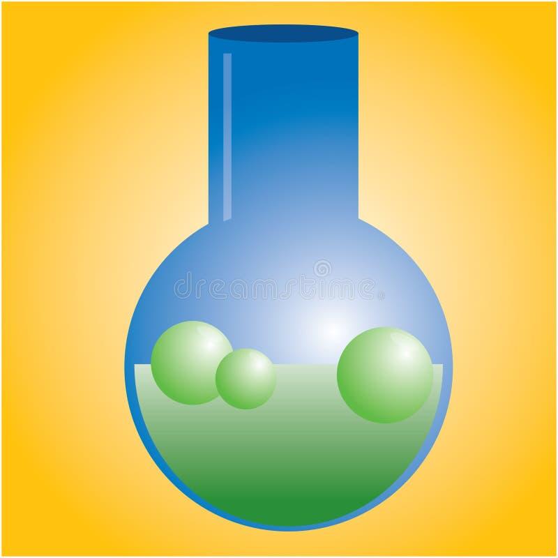 Chimica illustrazione vettoriale