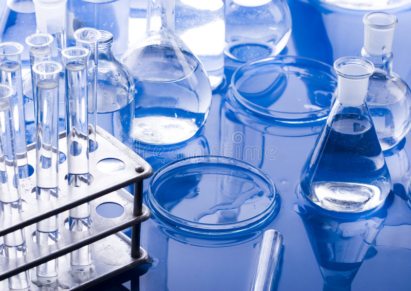 Chimie photographie stock