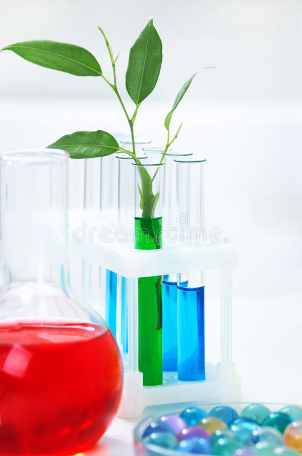 Chimie Organique Photographie stock