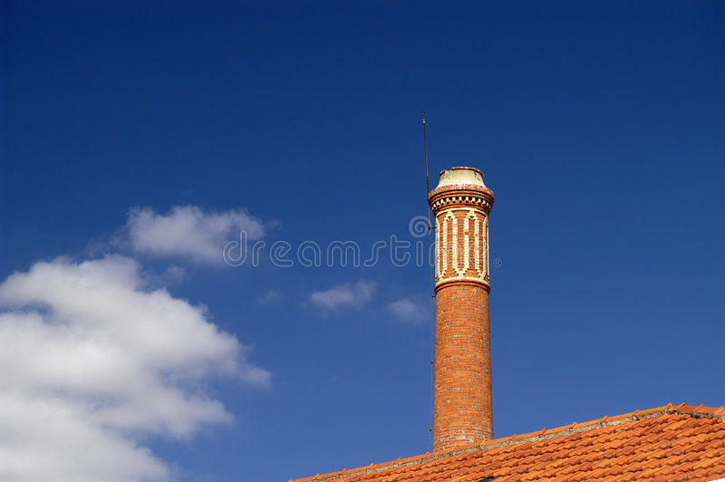 Download Chimney stock photo. Image of outside, housing, house, rooftop - 450892