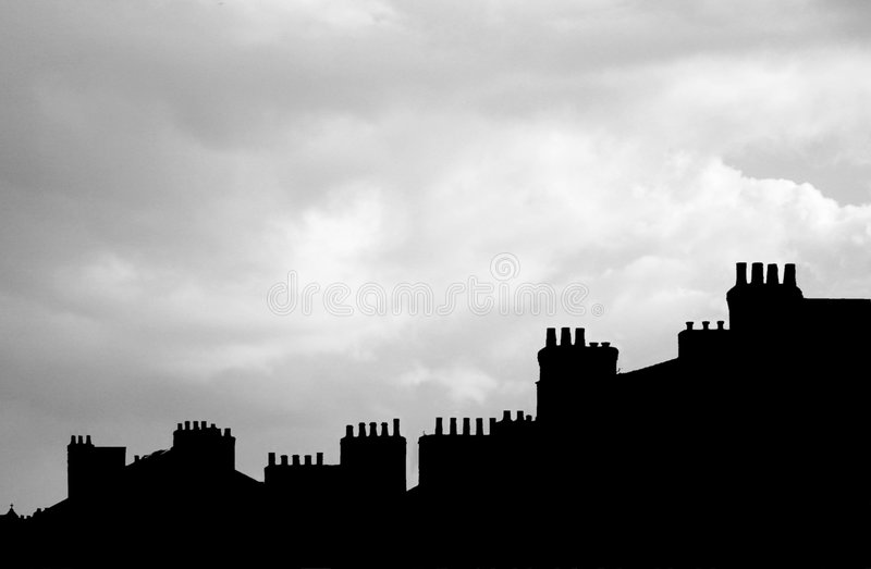 Chimney Pots royalty free stock images