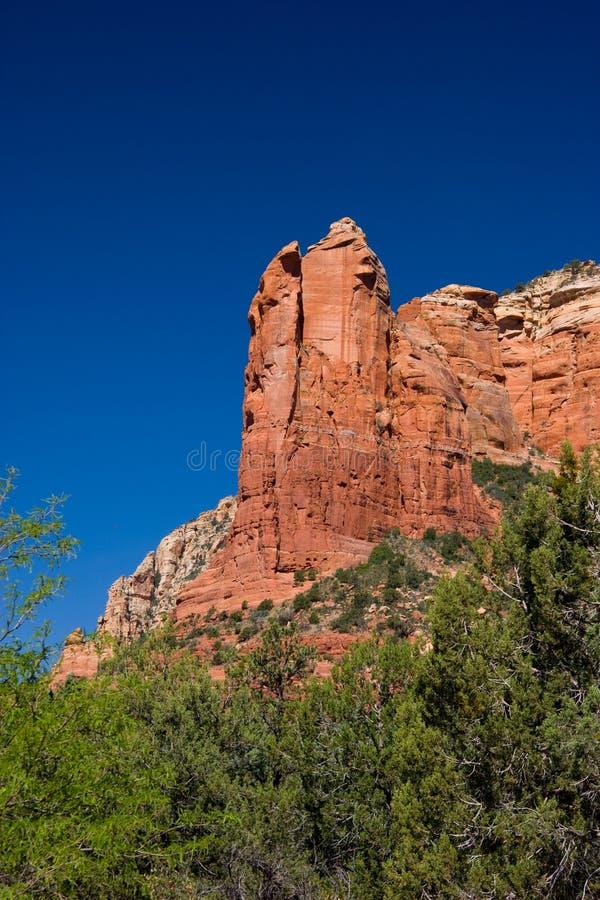 Free Chimney Rock And Blue Sky, Sedona Stock Image - 63891381