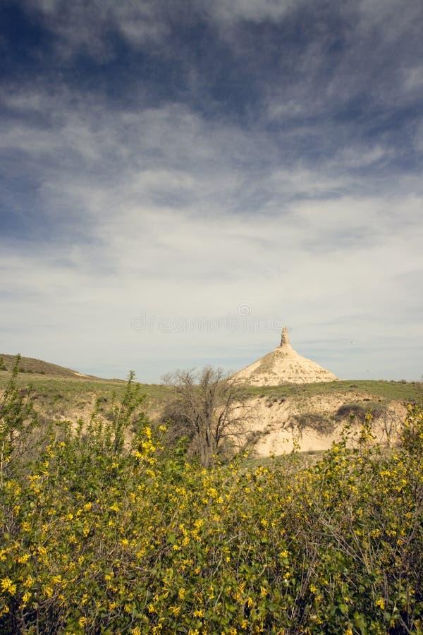 Chimney Rock, Nebraska stock image