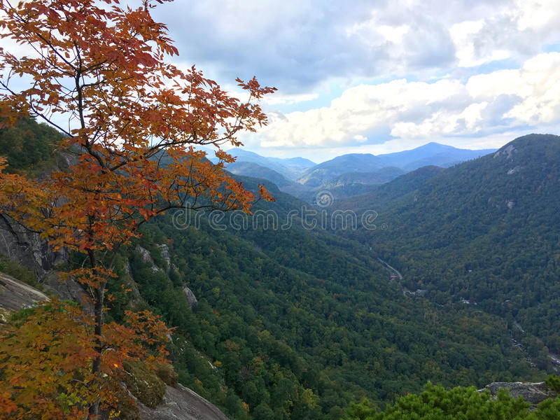 Chimney Rock State Park royalty free stock image