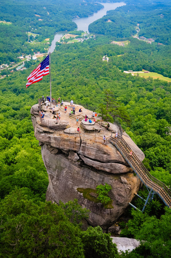 Chimney Rock royalty free stock photography