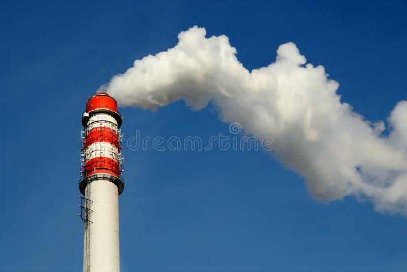 Chimney smoke