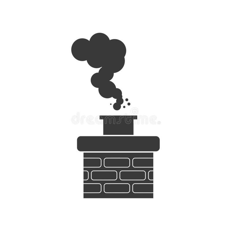 Free Chimney Smoke Icon Vector Royalty Free Stock Image - 170134696