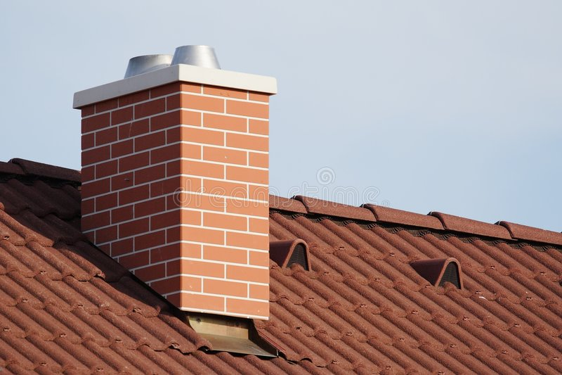 Chimney stack royalty free stock image
