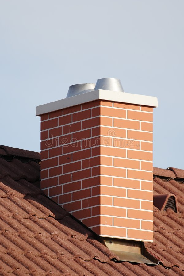 Chimney stack stock photos
