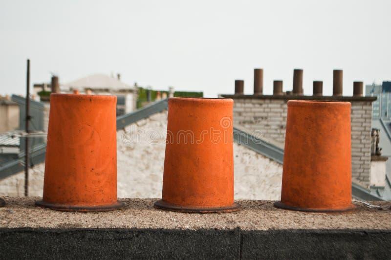 chimneys стоковые фото