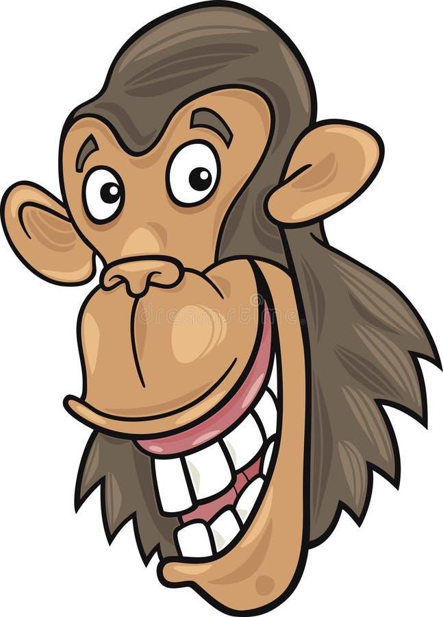 Chimpanzé illustration de vecteur