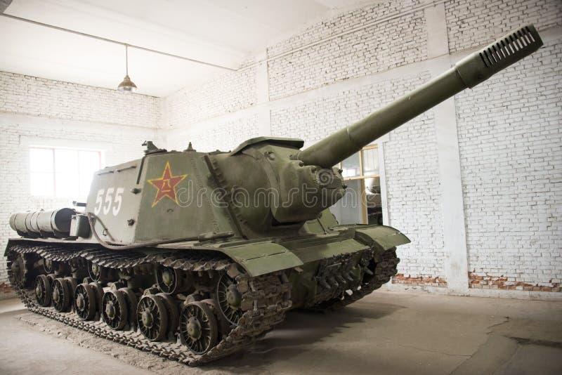 Chinês asiático, Pequim, museu do tanque foto de stock royalty free