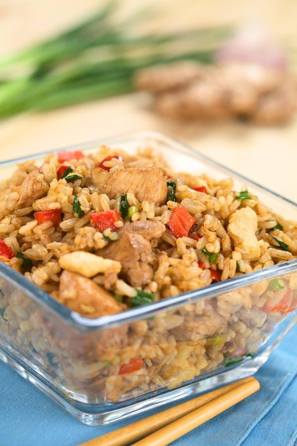 Chinês Fried Rice fotos de stock