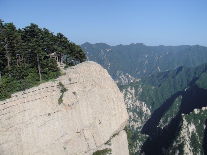 Chinês Huashan, província de Shaanxi imagens de stock royalty free