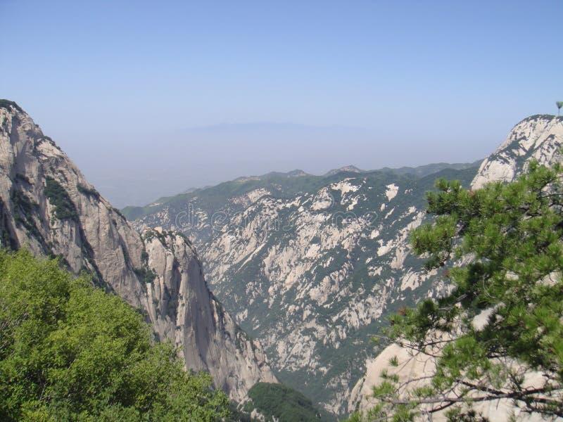 Chinês Huashan, província de Shaanxi imagens de stock