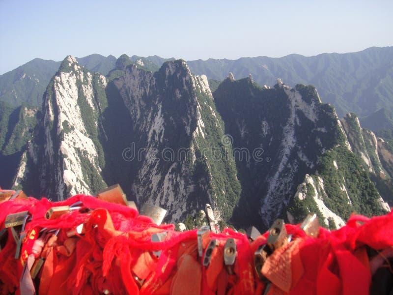 Chinês Huashan, província de Shaanxi foto de stock