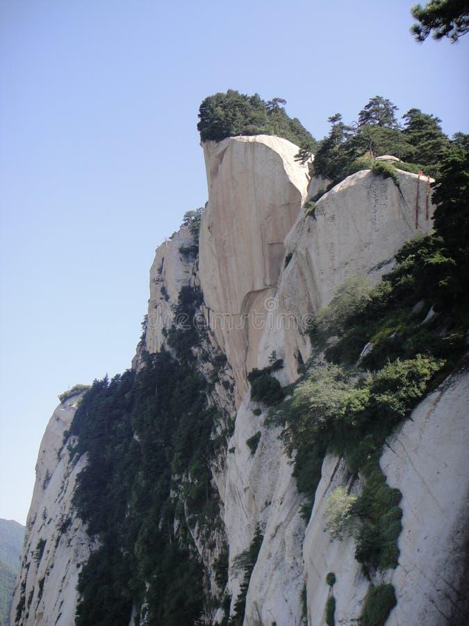 Chinês Huashan, província de Shaanxi imagem de stock