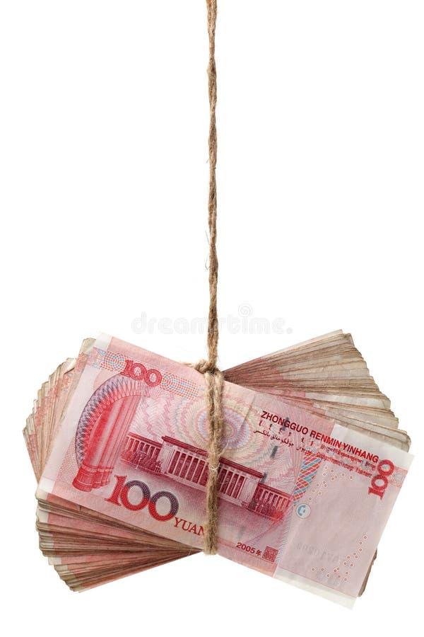 Chinês Yuan Renminbi Banknote fotos de stock royalty free