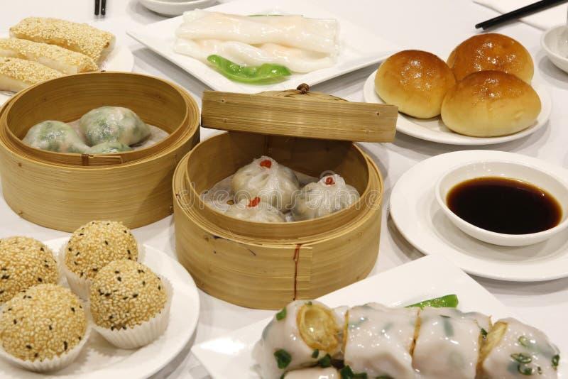 Chinês Yum Cha imagens de stock