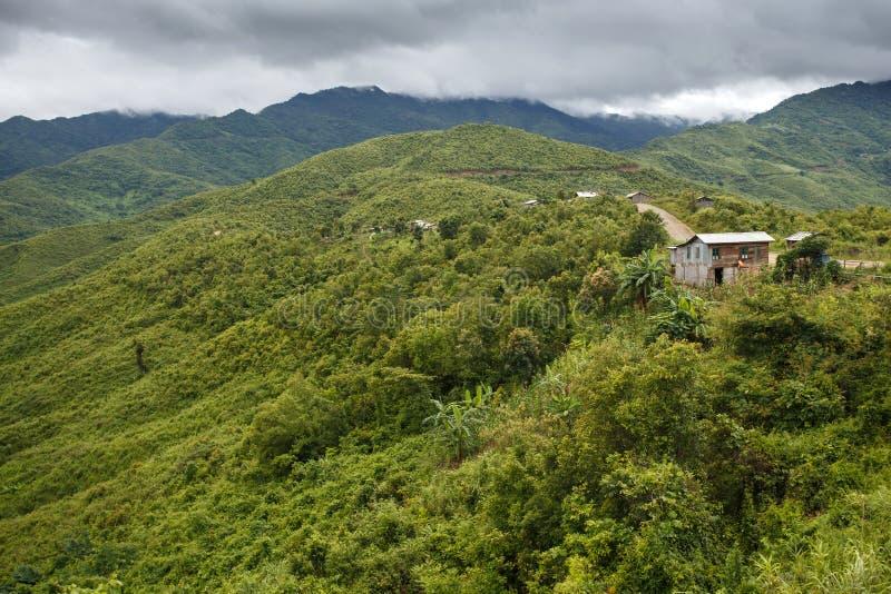 Chin State, Myanmar imagen de archivo libre de regalías