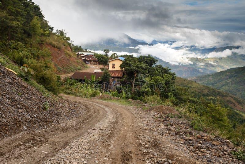 Download Chin State, Myanmar image stock. Image du rural, piste - 56476303