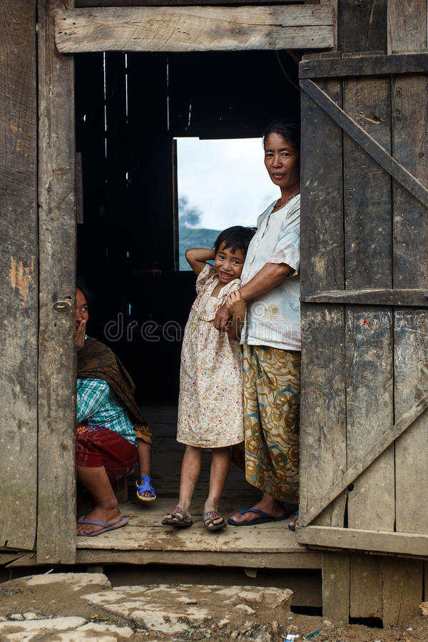 Download Chin State, Myanmar image stock éditorial. Image du rural - 56476329