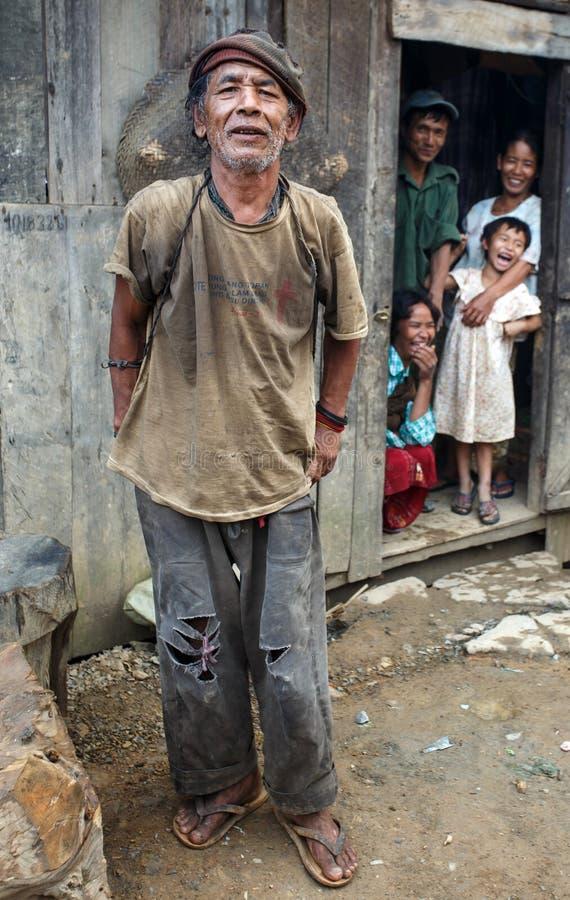 Chin State, Myanmar foto de stock