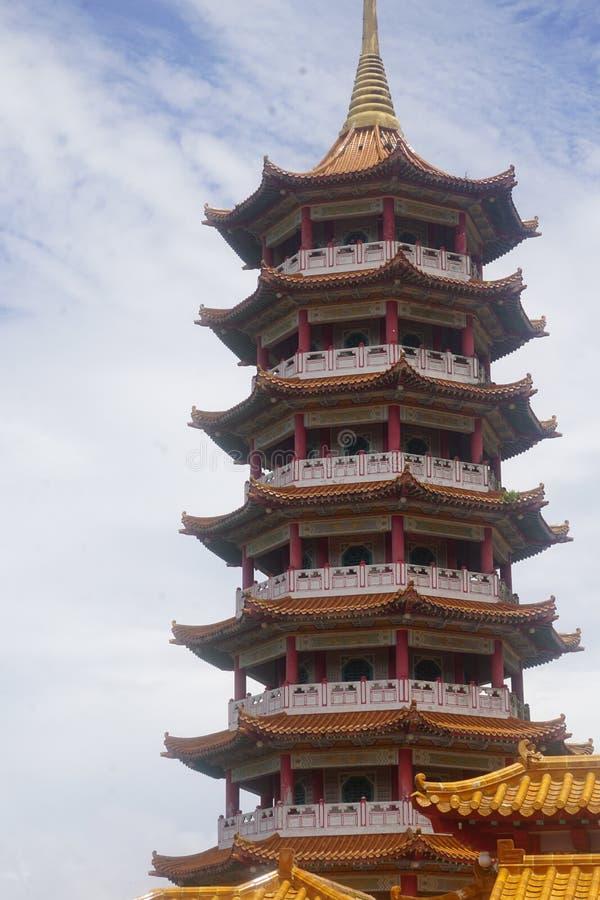 Chin Swee выдалбливает висок Genting стоковые фото