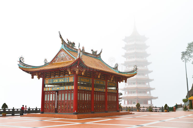 Chin Wee Temple. In Genting Malaysia stock photos