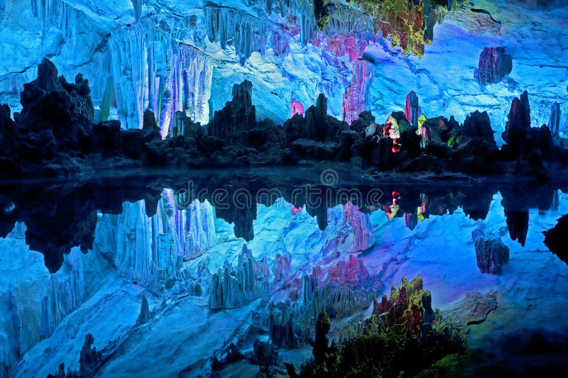 Download China stock photo. Image of grotto, reflection, guilin - 17922578