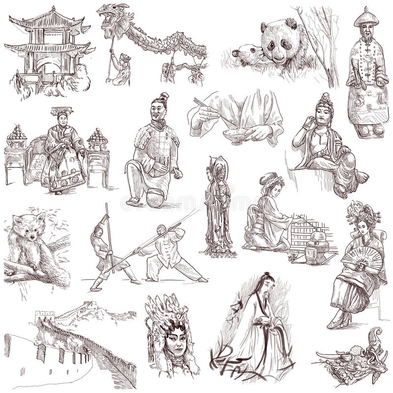 China vector illustratie
