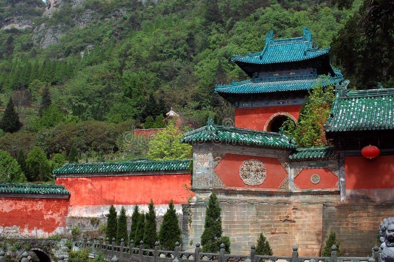 China-alte Architektur stockbilder