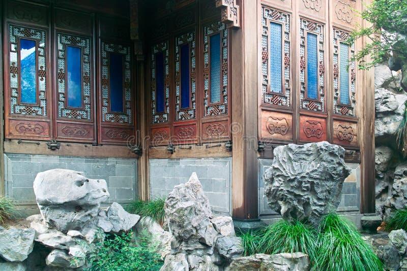 China-altes Gebäude stockbilder