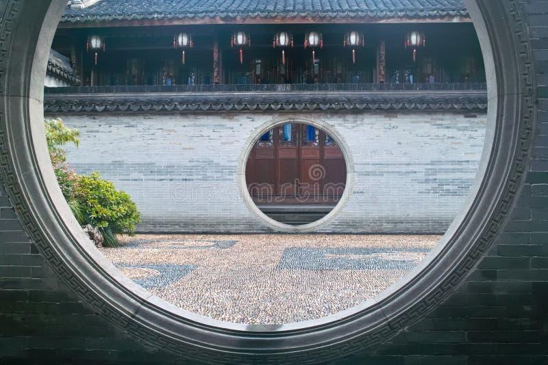 China ancient building stock image