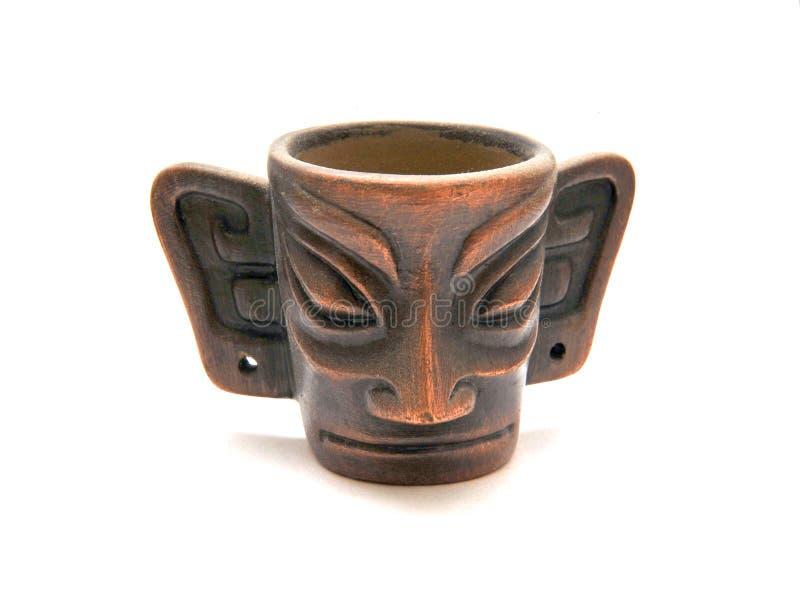 China ancient cup royalty free stock image