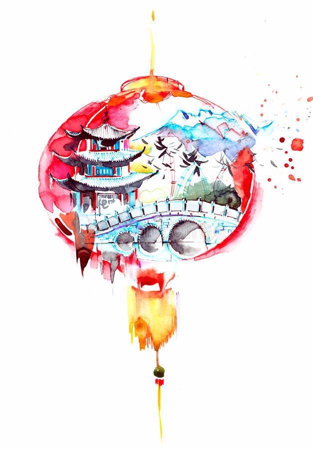 China stock illustration