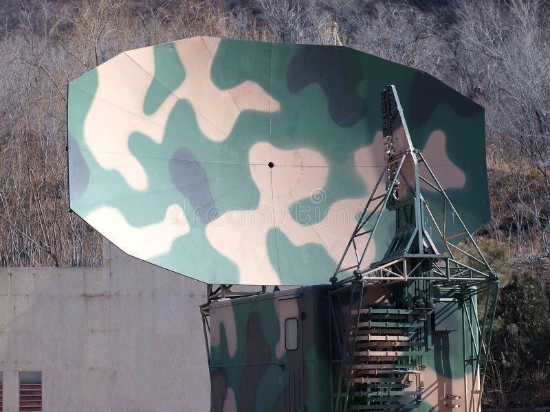 China Army ,Military radar station royalty free stock photography