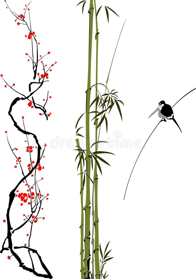 Download China art stock vector. Illustration of garden, china - 26095329