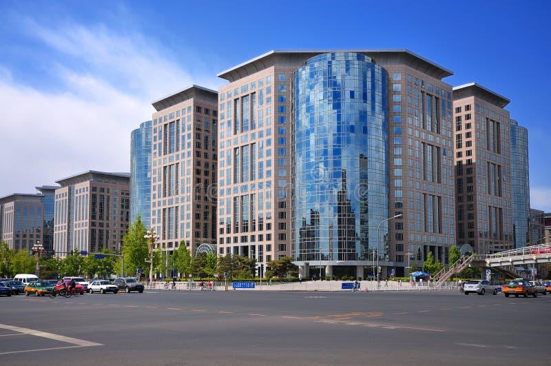 China Beijing Chang um edifício da avenida fotografia de stock royalty free